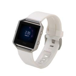 Killerdeals Women's Silicone Strap For Fitbit Blaze - White