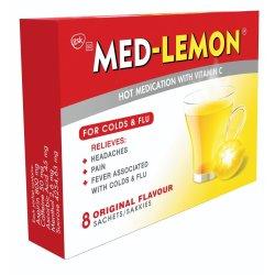 Med Lemon - Hot Medication With Vitamin C Sachets 8'S
