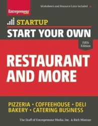 Start Your Own Restaurant And More Paperback 5th Revised Edition
