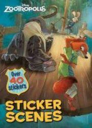 Disney Zootropolis Sticker Scenes Activity Book Paperback