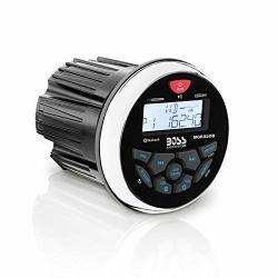 BOSS AUDIO MGR350B Marine Gauge Receiver - Bluetooth Digital Media MP3 Player No Cd Player USB Port Am fm Radio Weatherproof