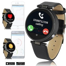 InDigi 2016 Hot Heart Rate Monitor Smart Watch Bluetooth Smartwatch Iphone Siri