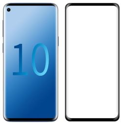 Tuff-Luv 3D Curved Tempered Glass Screen Protection For Samsung Galaxy S10 Plus