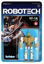 Robotech 3.75 Inch Reaction Series 1 VF-1A Figure Super 7