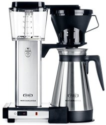 Technivorm Moccamaster 79112 Coffee Brewer 40 Oz Polished Silver