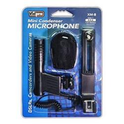 Grey I3ePro BP-CMIC1 X-Series Mini Shotgun Condenser Microphone for Panasonic HC-X920 3D Digital Camcorder
