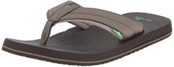 Sanuk Men's Beer Cozy 2 Sandal Brindle 06 M Us