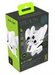 Stealth Twin Charging Dock - White Xbox One