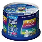 Verbatim 50 Blu-ray 25 Gb Bd-r Single Layer 6x Speed Original Spindle Printable Blueray