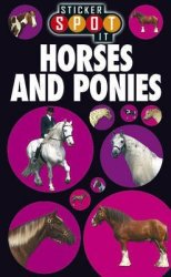Sticker Spot It Horses And Ponies Pocket Book