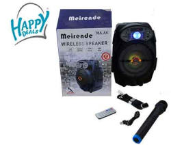 Meirende MA-A6 Wireless Speaker | R | Microphones | PriceCheck SA