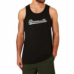 Loo Show Mens Dreamville Records Music Fans Fitness Workout Casual Tank Tops Men Black XXL