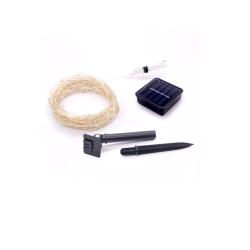 Solar Light Copper Wire 10M Waterproof Fairy Light Warm White