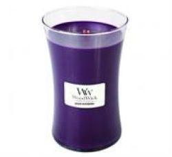 Woodwick Spiced Blackberry Large Jar Retail Box No Warranty