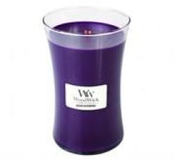 Woodwick Spiced Blackberry Large Jar Retail Box No Warranty
