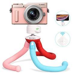 Fotopro Camera Tripod Flexible Tripod With Bluetooth Remote For Iphone XS Max 8 Plus Samsung Galaxy S9 Huawei P20 Pro Camera Tri