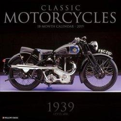 Classic Motorcycles 2019 Wall Calendar Calendar