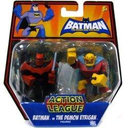 Dc Batman Brave And The Bold Action League MINI Figure 2PACK Batman Vs. The Demon Etrigan