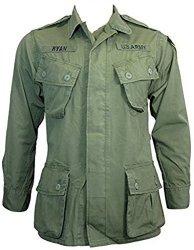 US Olive Green Tropical jungle Jacket - Vietnam Era Medium