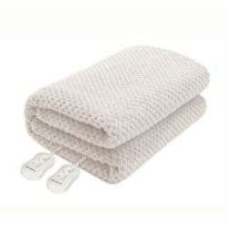 Pure Pleasure Coral Fleece Electric Blanket Fitted King