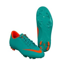 Nike Junior Mercurial Victory III Firm Ground Football Boots - 1.5 - Blue 396d12944