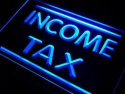 ADV PRO I430-B Income Tax Services Neon Light Sign