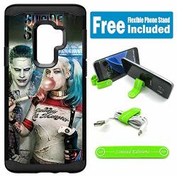 Limited Editions For Galaxy S9+ Plus Hybrid Rugged Hard Cover Case - Joker Harley Quinn Real Bubble