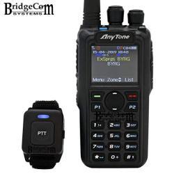 Anytone AT-D878UV Plus Bluetooth W gps. Free Programming Cable 3100MAH Battery Anytone Course On Bridgecom University $50 Value