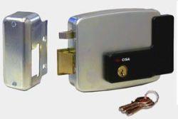 Cisa Electronic Rim Lock Lh Out Open