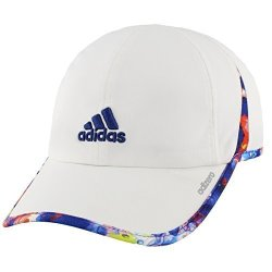 b2eb2a62 Agron Hats & Accessories Adidas Women's Adizero II Cap White jodo mystery  Ink Blue One Size