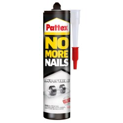 PATTEX - No More Nails Invisible 300ML