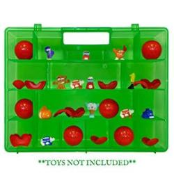 Life Made Better Toys Protective & Organizing Portable Green Remodeled Carrying Case Works With Zuru Smashers Organizer Not Made By Zuru Smashers Toy Accessories By Lmb