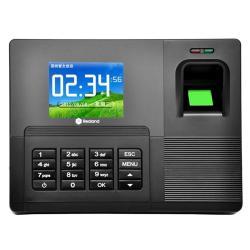 A-F031 2.8 Inch Color Tft Screen Fingerprint & Rfid Time Attendance USB Communication Office Time Attendance Clock Black