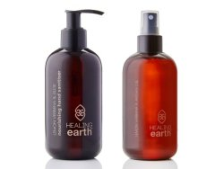 Healing Earth Duo Hand Sanitiser & Hygiene Spray Set