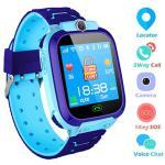 Kids Smartwatch Themoemoe Gps Kids Tracker Samrt Watch With Camera Calls Sos Smart Watch For Kids Girls Boys Blue