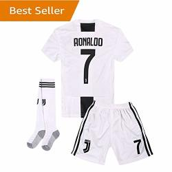 uk availability e322d 4e306 Juventus Yanfirstfc Home 7 Ronaldo 2018-2019 Kids youth White Soccer Jersey  & Shorts & Socks 12-13YEARS SIZE 28 | R937.00 | Shirts & T-shirts | ...