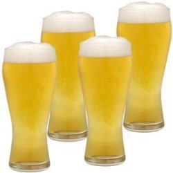 Budweiser Pint Glass Set Of 4