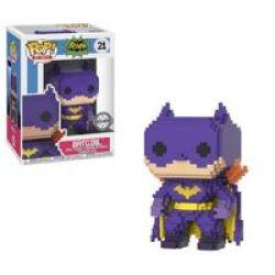 Funko Pop 8-BIT: Batman - Batgirl Vinyl Figurine Purple