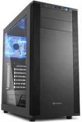 Sharkoon 4044951019328  M25-W Atx Tower PC Gaming Case Black With Side Window - USB 3.0 Mounting Possibilities: 1X 5.25 1X 5.25