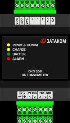 Voltage DKG-359 & Current Transmitter For Dc Systems Datakom Synchronization Units