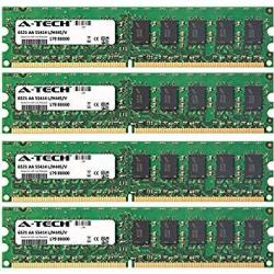 8GB Kit 4 X 2GB For Dell Poweredge Series R200 T100 T105. Dimm DDR2 Ecc Unbuffered PC2-6400 800MHZ Dual Rank RAM Memory. Genuine A-tech Brand.