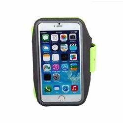 Sports Mobile Phone Arm With Wrist Bag Almighty Sweat-proof Sports Arm Band For Running jogging riding Green Color : A