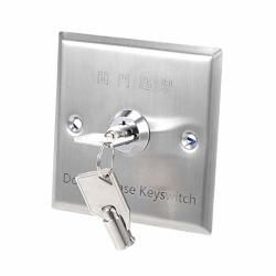 Uxcell Exit Switch On off Key Switches Emergency Door Release Spst For Access Control Panel Mount W 2 Keys