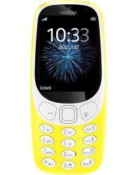 Nokia 3310 16MB Single Sim 2017 Edition in Yellow
