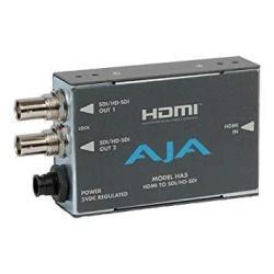 Aja HA5 HDMI To Sd hd-sdi Video And Audio Converter
