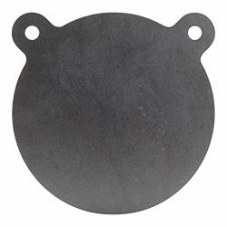 SHOOTINGTARGETS7 - AR500 Steel Gong Target - 8 X 1 2 Inch For Large Rifles To 338 Lapua - Laser Cut Usa Steel