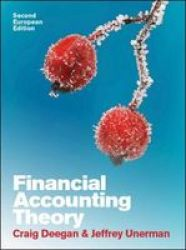 Financial Accounting Theory: European Edition Paperback 2ND Edition