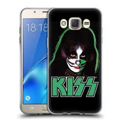 Head Case Designs Official Kiss Peter Criss Solo 2 Soft Gel Case For Samsung Galaxy J7 2016