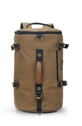 3870dc1de Tosca Canvas Duffle Backpack With 15 Inch Laptop Compartment - Coffee
