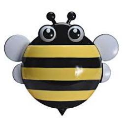 4AKID Bee Toothbrush Holder - Yellow